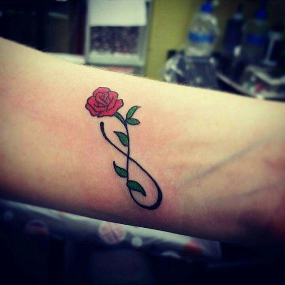 äärettömyys Tatuointi